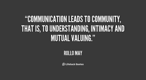 communication community quot