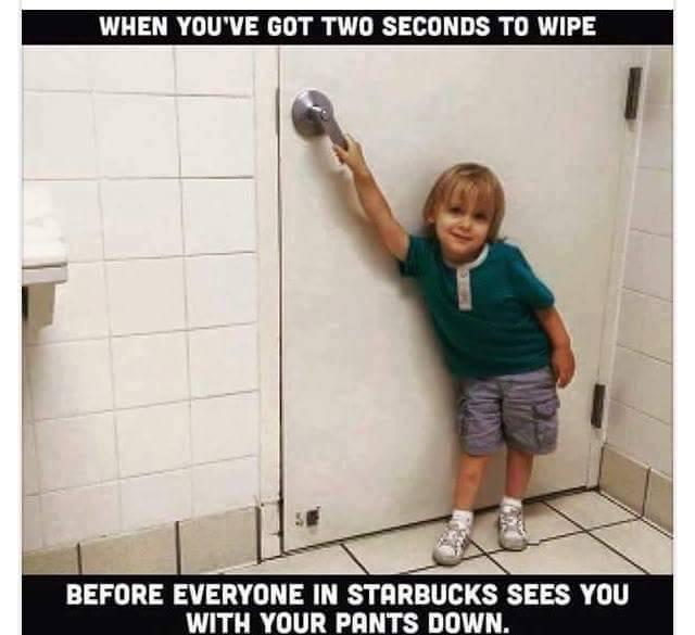 Toilet funny