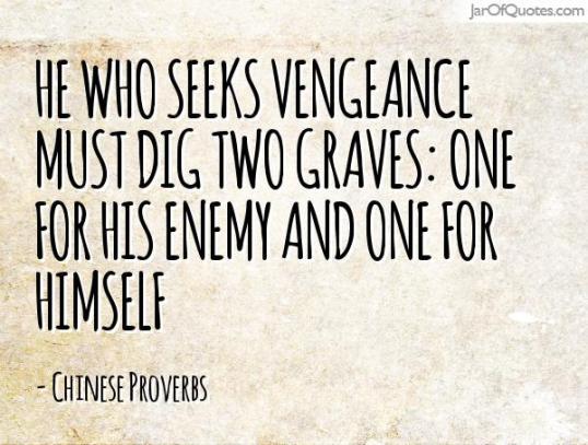 two grave rvenge quote